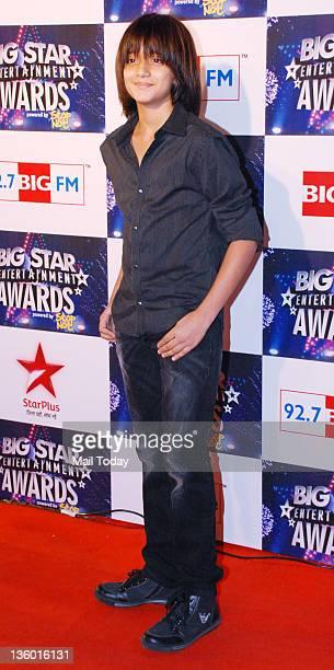 Armaan Verma during 'BIG Star Awards 2011' at Bhavan's college ground in Mumbai on December 19 2011
