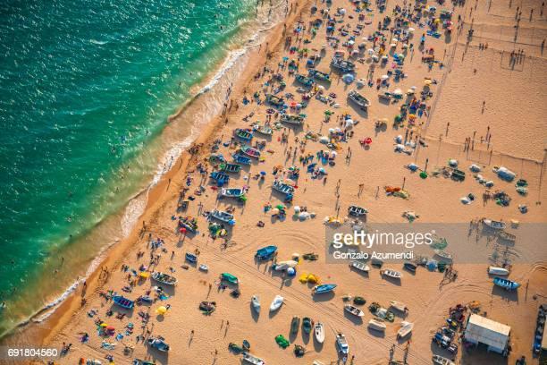 Armaçao de Pera beach in Algarve