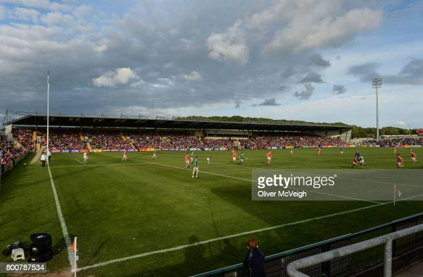 Armagh Ireland 25 June 2017 A general view of the crowd at during the GAA Football AllIreland Senior Championship Round 1B match between Armagh and...