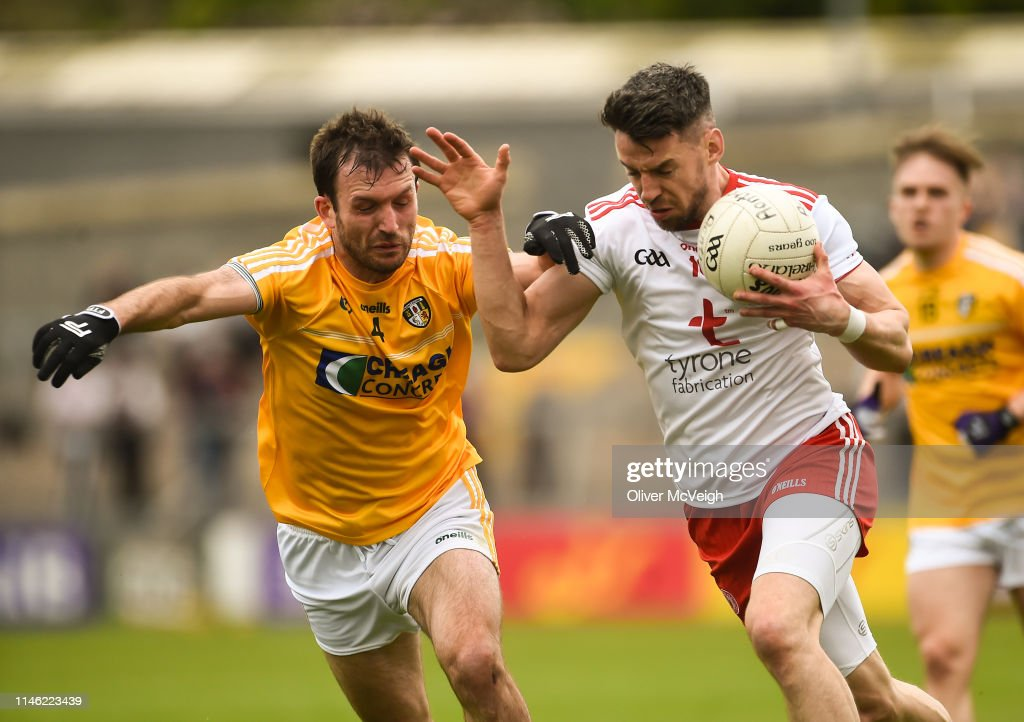 GBR: Antrim v Tyrone - Ulster GAA Football Senior Championship Quarter-Final
