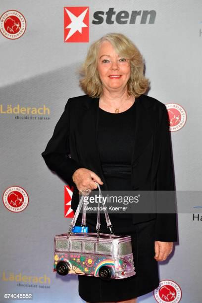 Armagrd Seegers-Karasek attends the Nannen Award 2017 on April 27, 2017 in Hamburg, Germany.