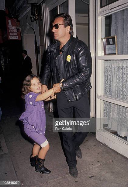 Armand Assante and daughter Anya Assante during Pediatric AIDS Benefit Screening of Getting Even With Dad at Plaza Theater in New York City New York...