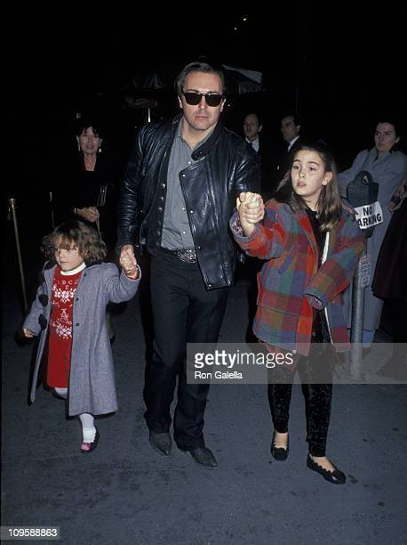 Armand Assante and his daughters Alessandra Assante and Anya Assante