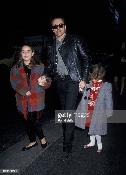Armand Assante and his daughters Anya Assante and Alessandra Assante