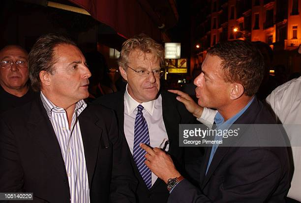Armand Assante and Jerry Springer and JeanClaude Van Damme