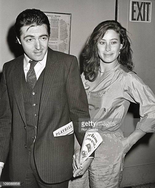 Armand Assante and Karen Assante during Opening of 'The Moony Shapiro Songbook' at Morosco Theater in New York City New York United States