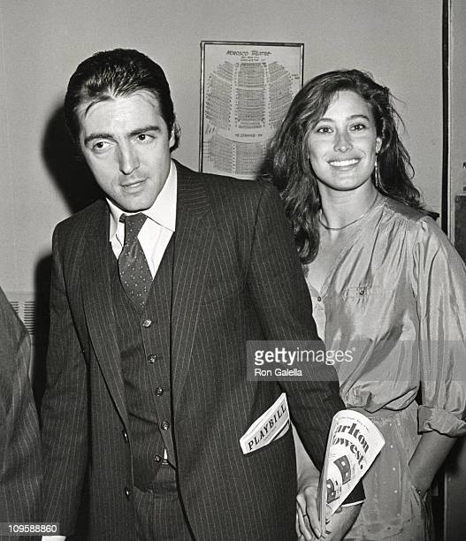 Armand Assante and Karen Assante during Opening of The Moony Shapiro Songbook at Morosco Theater in New York City New York United States