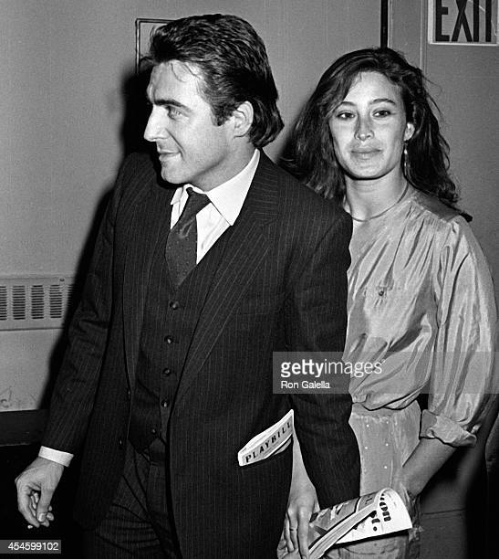 Armand Assante and Karen McArn attend the opening of The Mooney Shapiro Songbook on May 3 1981 at the Morocco Theater in New York City
