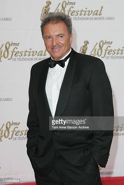 Armand Assante arrives at the 48th Monte Carlo Television Festival opening Ceremony on June 8 2008 in MonteCarlo Monaco