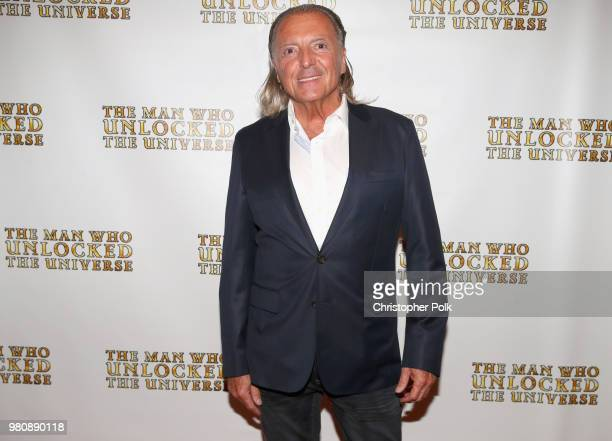 Armand Assante at the premiere of THE MAN WHO UNLOCKED THE UNIVERSE on June 21 2018 in West Hollywood California