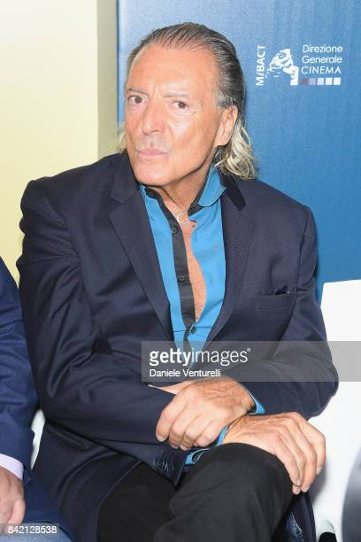 Armand Assante attends the Kineo Diamanti Awards press conference during the 74th Venice Film Festival at on September 3 2017 in Venice Italy