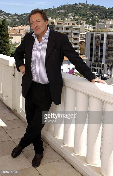 Armand Assante during 2003 Cannes Film Festival 'Citizen Verdict' Portraits at The Savoy Hotel in Cannes France