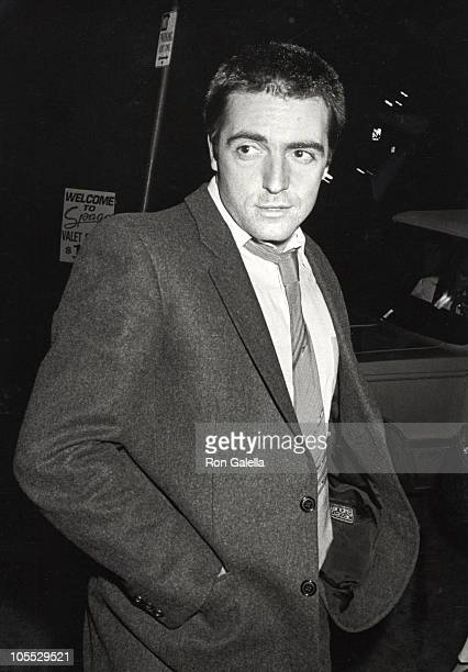 Armand Assante during Armand Assante Sighting at Spago's Restaurant December 12 1984 at Spago's Restaurant in Los Angeles California United States
