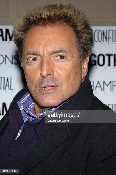 Armand Assante during Gotham and LA Confidential Magazine Anniversary Party Hosted by Kim Cattrall at Gotham Hall in New York City New York United...