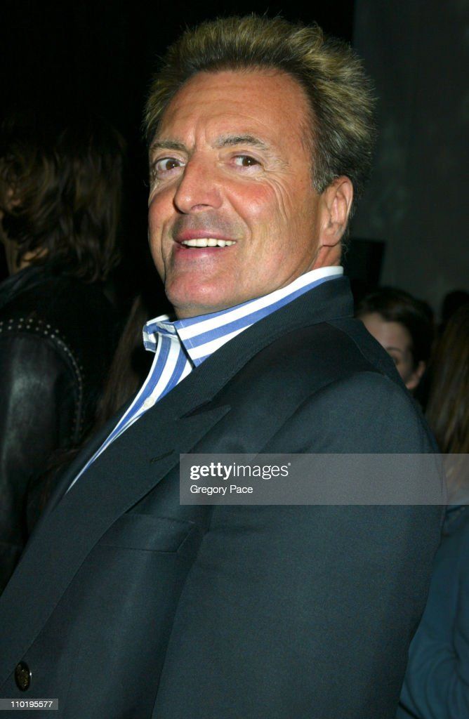 Armand Assante during Louis Vuitton 150th Anniversay Celebration - Inside at Louis Vuitton Tent at Lincoln Center in New York City, New York, United States.