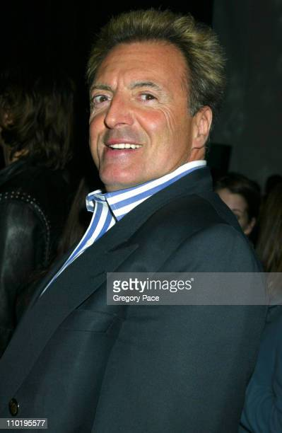 Armand Assante during Louis Vuitton 150th Anniversay Celebration Inside at Louis Vuitton Tent at Lincoln Center in New York City New York United...