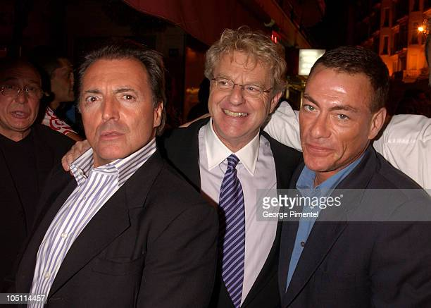 Armand Assante Jerry Springer and JeanClaude Van Damme