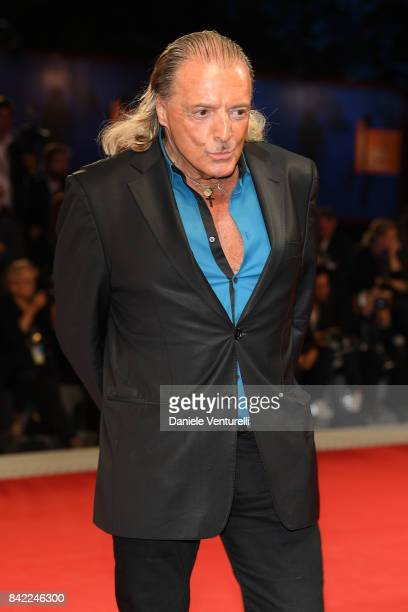 Armand Assante walks the red carpet ahead of the 'The Leisure Seeker ' screening during the 74th Venice Film Festival at Sala Grande on September 3...