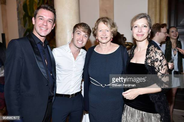 Armand Bigot William Nichols MarieMonique Steckel and AnneClaire Legendre attend FIAF Young Patrons and Carnegie Hall Notables Spring Soiree at The...