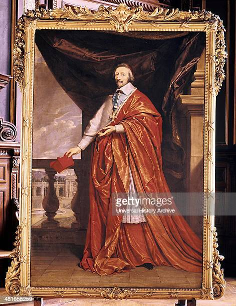Armand Jean Duplessis Duc de Richelieu Cardinal Richelieu French prelate and statesman Cardinal 1624 Minister of State to Louis XIII and de facto...