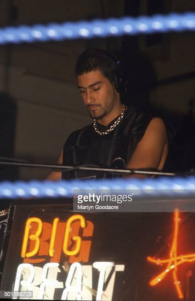 Armand Van Helden at the Heavy Weight DJ Battle Brixton Academy London United Kingdom 1999