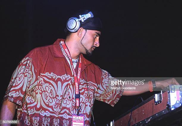 Armand Van Helden performing on stage United Kingdom 1999