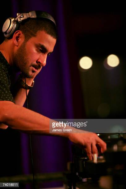 Armand Van Helden performs at The Smirnoff Experience Secret Party held April 28 2007 in Sydney Australia Over 50000 people entered competitions from...