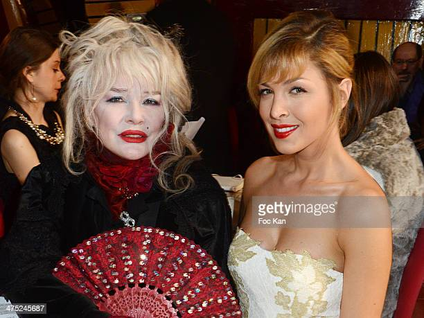 Armande Altai and Eleonore Boccara attend the Christophe Guillarme show as part of the Paris Fashion Week Womenswear Fall/Winter 2014-2015 at Balajo...