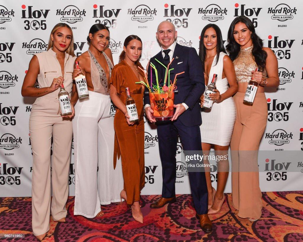 Grand Opening of iLov305 at Hard Rock Hotel and Casino Biloxi with Pitbull