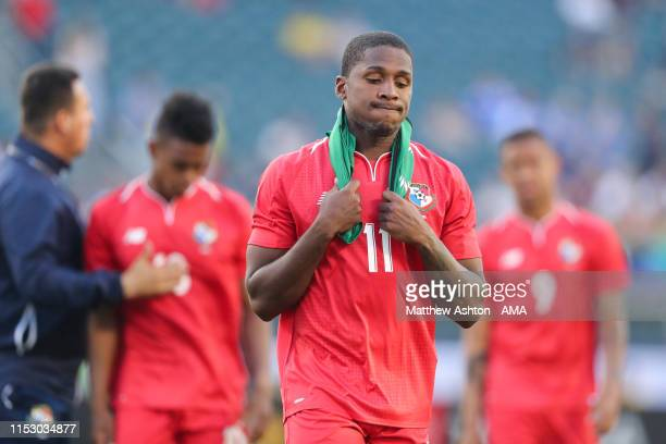 Armando Cooper of Panama during the 2019 CONCACAF Gold Cup Quarter Final match between Jamaica and Panama at Lincoln Financial Field on June 30 2019...