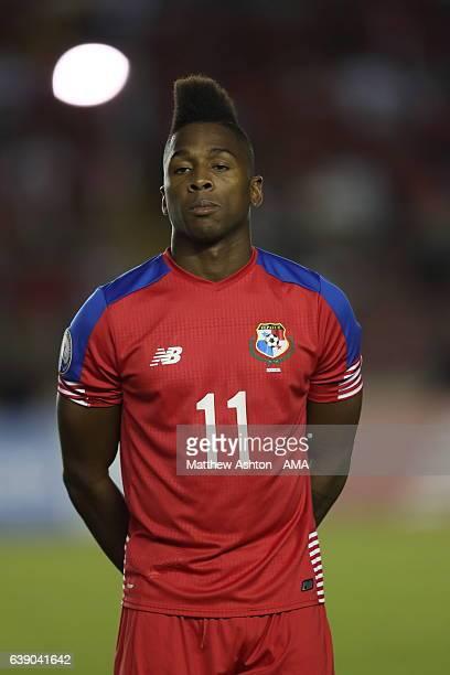 Armando Cooper of Panama during the Copa Centroamericana 2017 tournament between Panama and Honduras at Estadio Rommel Fernandez on January 17 2017...