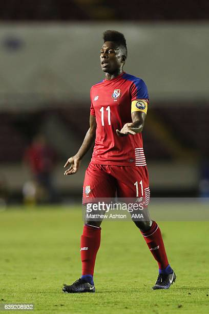 Armando Cooper of Panama during the Copa Centroamericana 2017 match between Panama and Belize at Estadio Rommel Fernandez on January 13 2017 in...