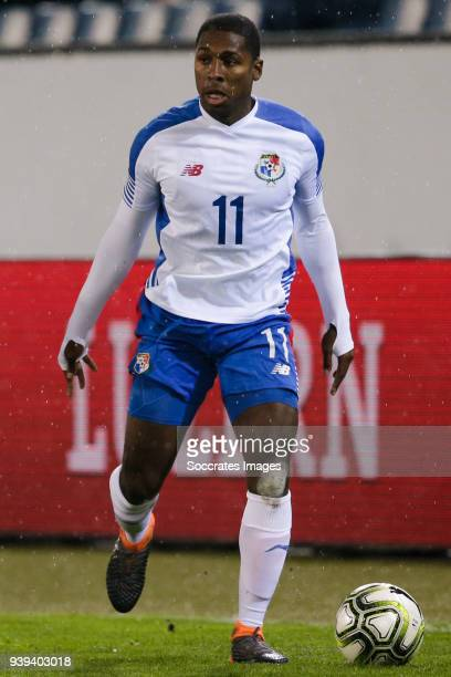 Armando Cooper of Panama during the International Friendly match between Switzerland v Panama at the Luzern Arena on March 27 2018 in Luzern...
