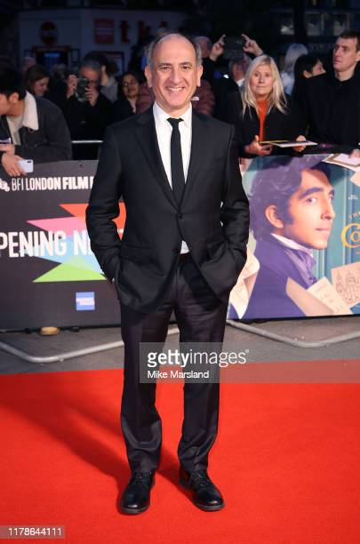 Armando Iannucci attends The Personal History Of David Copperfield European Premiere and Opening Night Gala during the 63rd BFI London Film Festival...