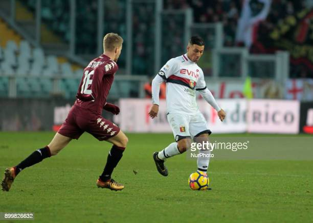 Armando Izzo during Serie A match between Torino v Genoa in Turin on December 30 2017