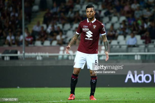 Armando Izzo of Torino FC during the the Serie A match between Torino Fc and Us Sassuolo Calcio Torino Fc wins 21 over Us Sassuolo Calcio