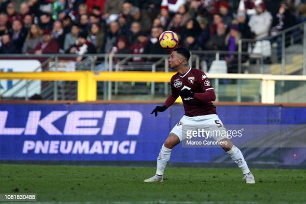Armando Izzo of Torino FC in action during the Italia Tim Cup football match between Torino Fc and Acf Fiorentina Afc Fiorentina wins 20 over Torino...