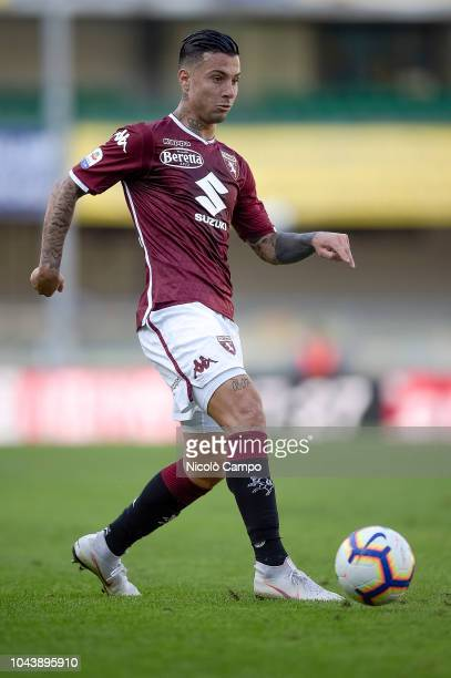 Armando Izzo of Torino FC in action during the Serie A football match between AC ChievoVerona and Torino FC Torino FC won 10 over AC ChievoVerona