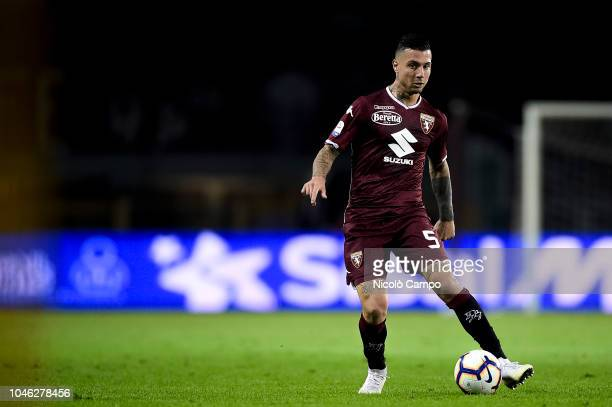 Armando Izzo of Torino FC in action during the Serie A football match between Torino FC and Frosinone Calcio Torino FC won 32 over Frosinone Calcio