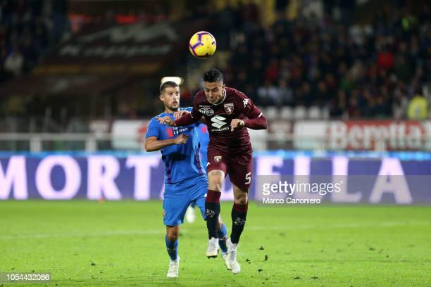 Armando Izzo of Torino FC in action during the Serie A football match between Torino Fc and Acf Fiorentina The match end in a tie 11