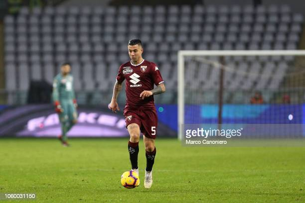 Armando Izzo of Torino FC in action during the Serie A football match between Torino Fc and Parma Calcio Parma Calcio wins 21 over Torino Fc