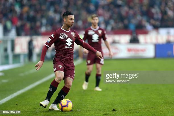 Armando Izzo of Torino FC in action during the Serie A football match between Torino Fc and Genoa Cfc Torino Fc wins 21 over Genoa Cfc