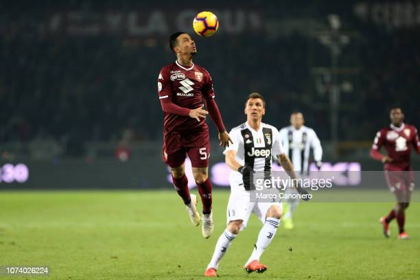 Armando Izzo of Torino FC in action during the Serie A football match between Torino Fc and Juventus Fc Juventus Fc wins 10 over Torino Fc