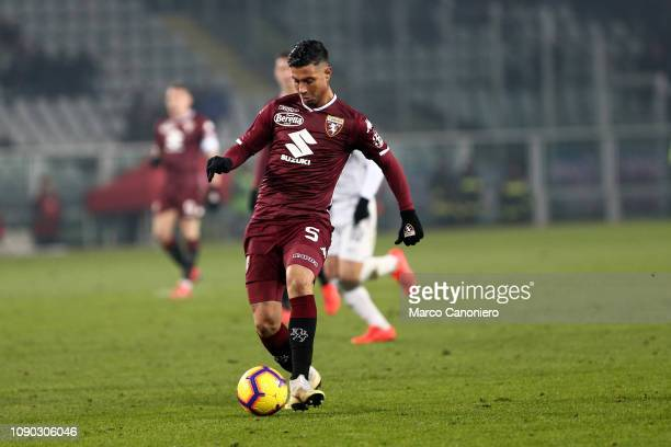 Armando Izzo of Torino FC in action during the Serie A football match between Torino Fc and Fc Internazionale Torino Fc wins 10 over Fc Internazionale