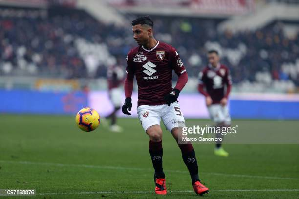 Armando Izzo of Torino FC in action during the Serie A football match between Torino Fc and Udinese Calcio Torino Fc wins 10 over Udinese Calcio