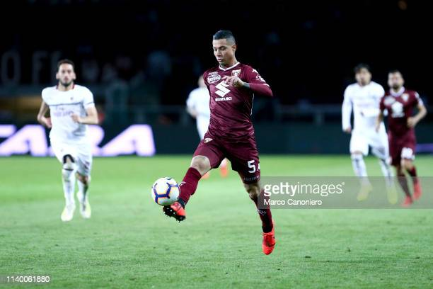 Armando Izzo of Torino FC in action during the Serie A football match between Torino Fc and Ac Milan Torino Fc wins 20 over Ac Milan