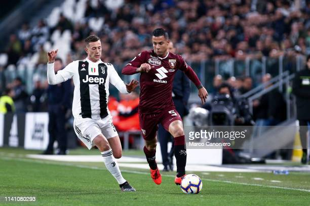 Armando Izzo of Torino FC in action during the Serie A football match between Juventus Fc and Torino Fc The match ends in a tie 11