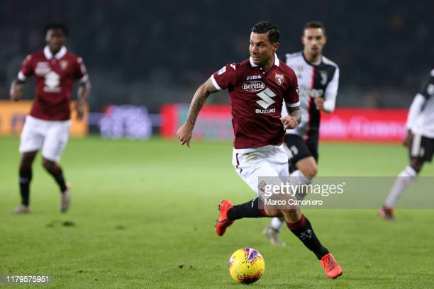 Armando Izzo of Torino FC in action during the Serie A match between Torino Fc and Juventus Fc Juventus Fc wins 10 over Torino Fc
