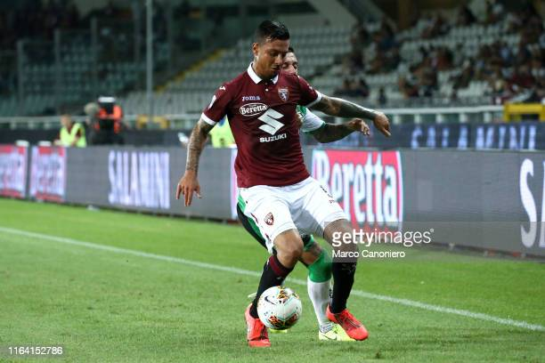 Armando Izzo of Torino FC in action during the the Serie A match between Torino Fc and Us Sassuolo Calcio Torino Fc wins 21 over Us Sassuolo Calcio