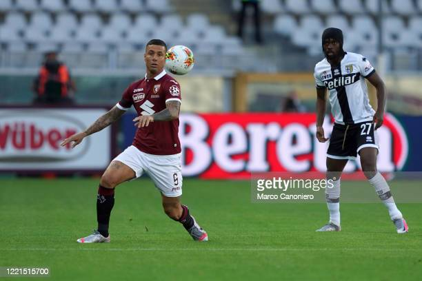 Armando Izzo of Torino FC in action during the the Serie A match between Torino Fc and Parma Calcio The match ends in a tie 11